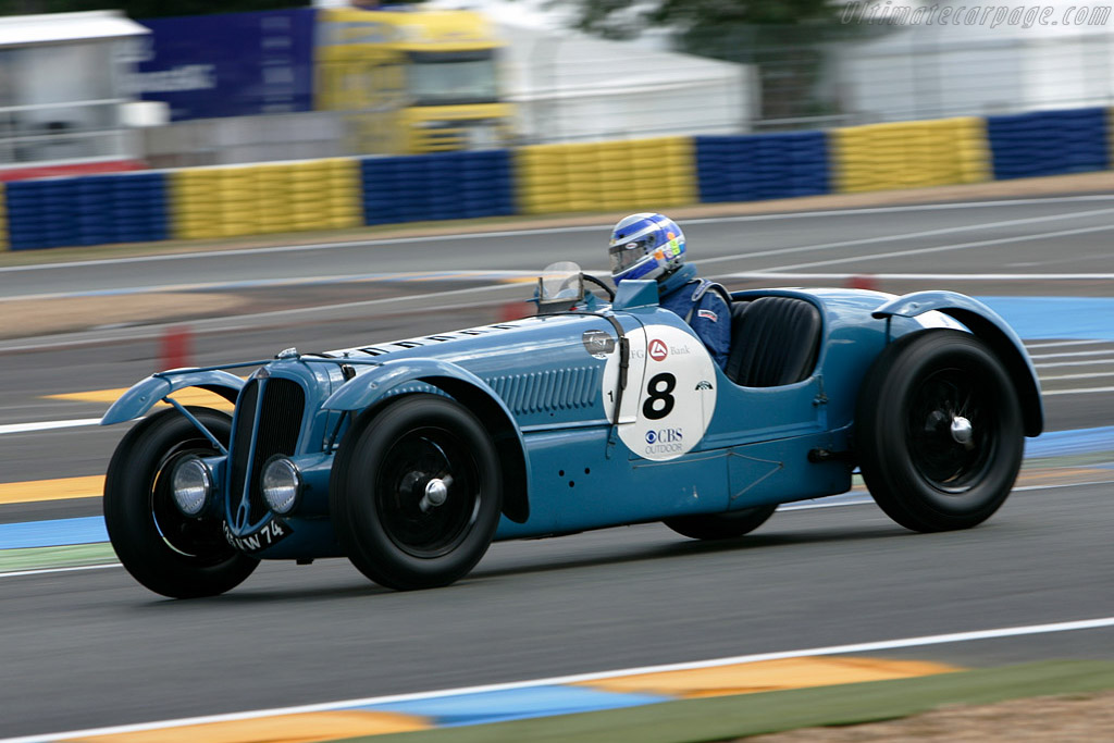 Delahaye 135S - Chassis: 47187   - 2008 Le Mans Classic