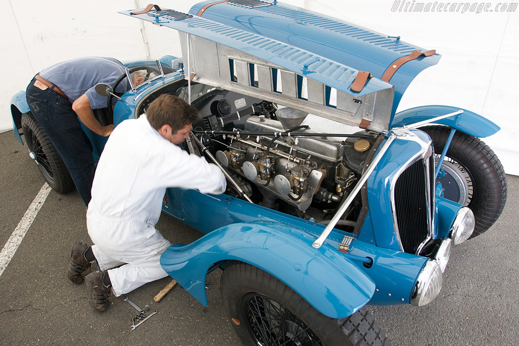 Final preparations    - 2008 Le Mans Classic