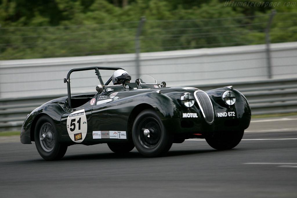 Jaguar XK120    - 2008 Le Mans Classic