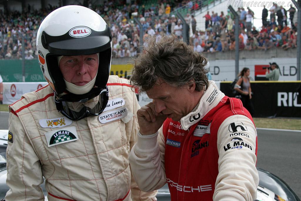 Le Mans winners Gijs van Lennep and Jan Lammers    - 2008 Le Mans Classic