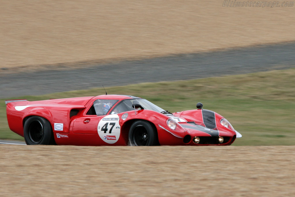Lola T70 Mk3 Coupe - Chassis: SL73/110 - Driver: Bernard Thuner  - 2008 Le Mans Classic