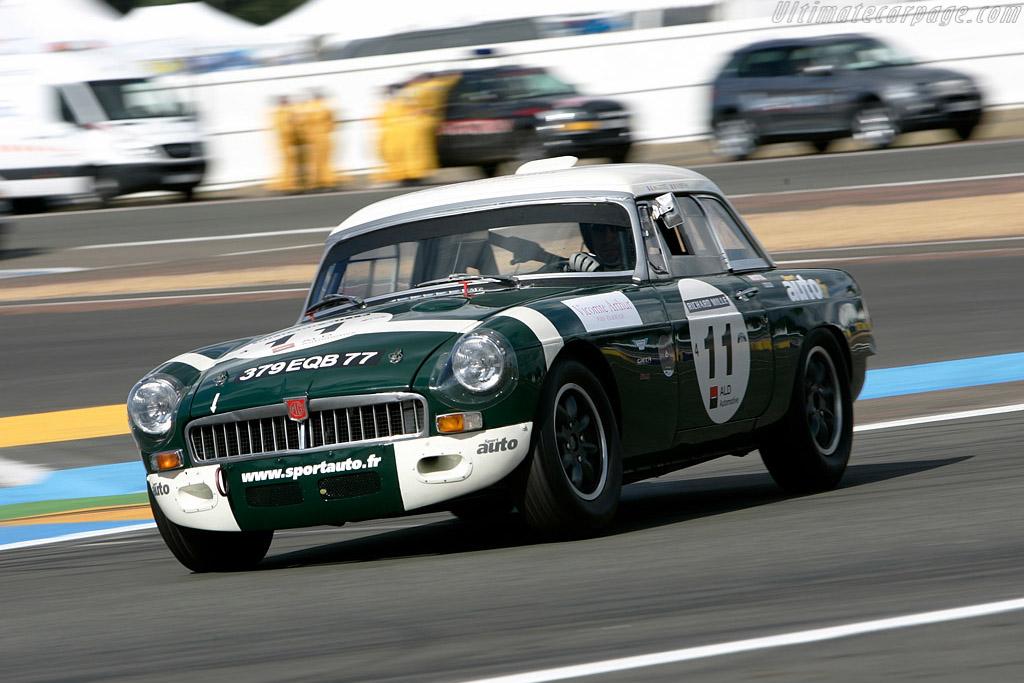 MG B    - 2008 Le Mans Classic
