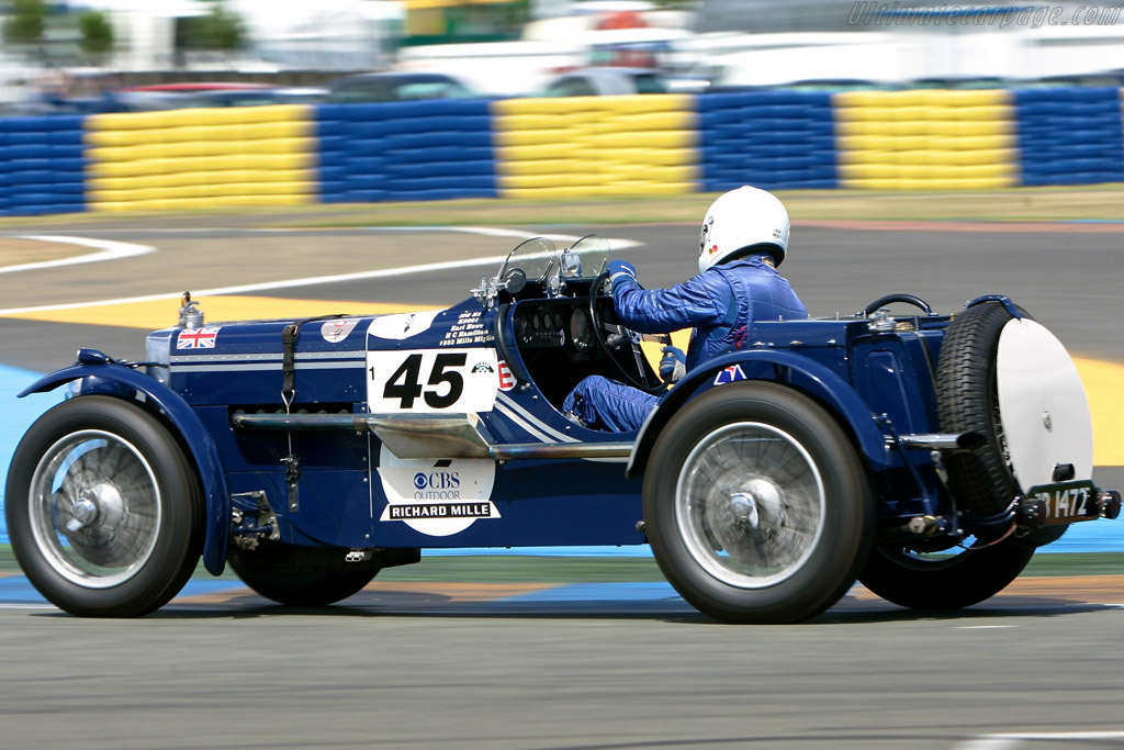 MG K3 Magnette - Chassis: K3001   - 2008 Le Mans Classic
