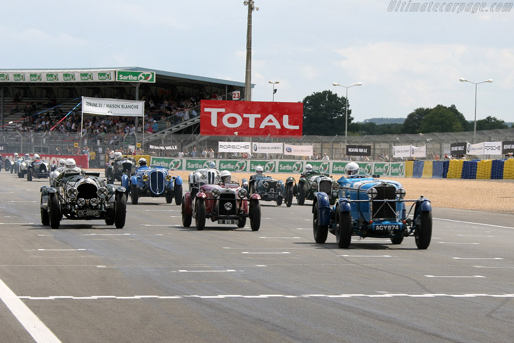 Off they go    - 2008 Le Mans Classic
