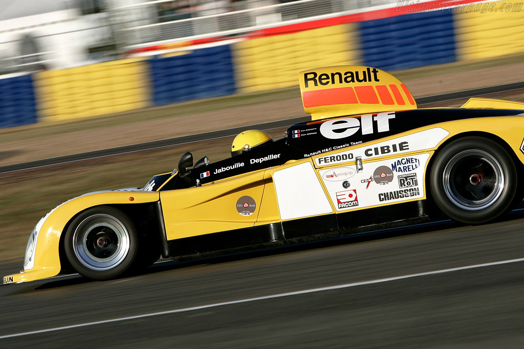 Renault Alpine A443 - Chassis: 443/0   - 2008 Le Mans Classic