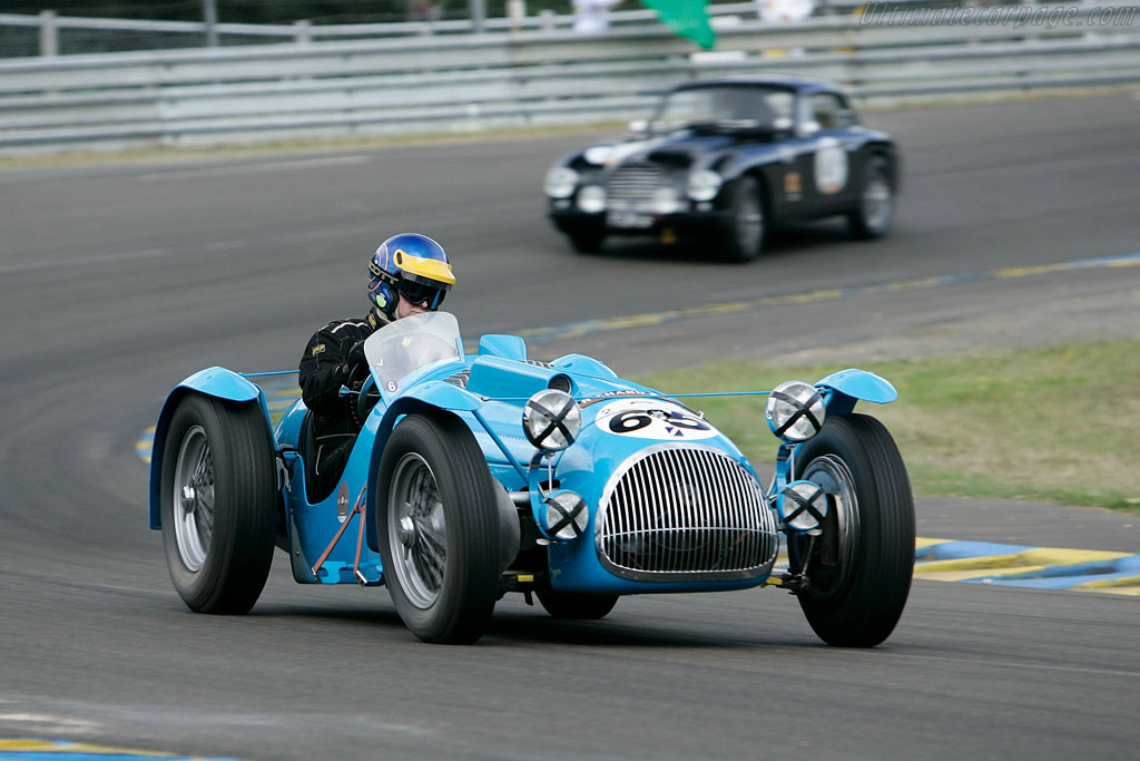 Talbot Lago T26C Biplace Sport - Chassis: 110059   - 2008 Le Mans Classic