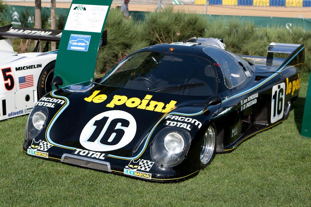 1980 winning Rondeau    - 2010 Le Mans Classic