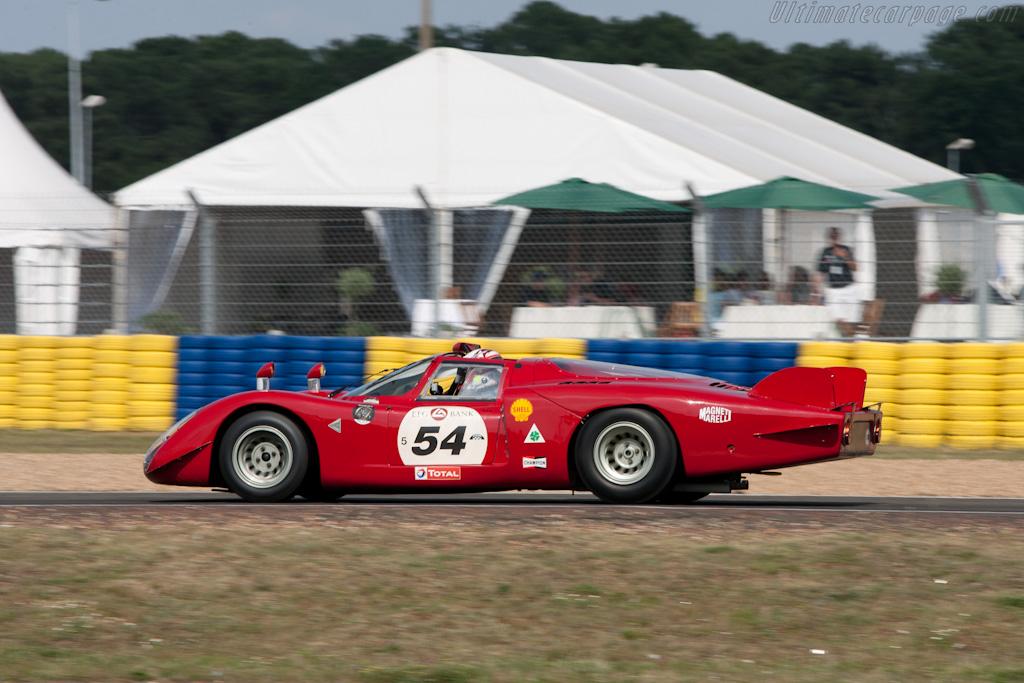Alfa Romeo Tipo 33 Le Mans - Chassis: 75033.019   - 2010 Le Mans Classic
