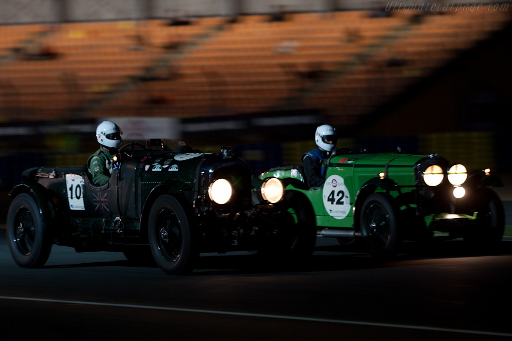 Bentley 4.5 Litre Blower and Talbot 105 - Chassis: DS3573   - 2010 Le Mans Classic