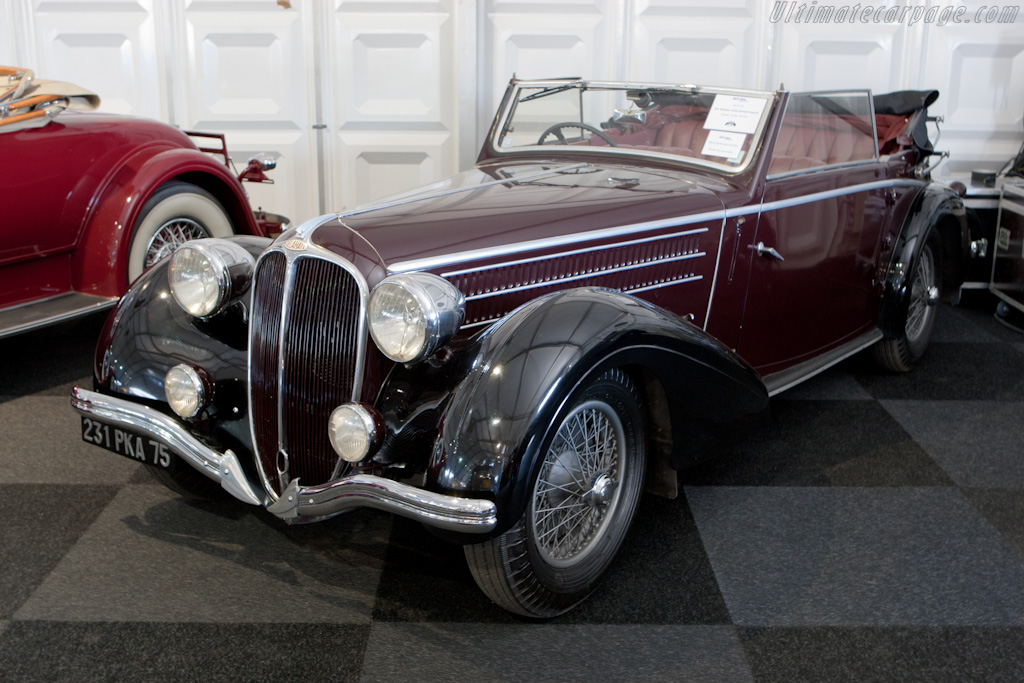 Delahaye 135M Chapron Cabriolet - Chassis: 49278   - 2010 Le Mans Classic