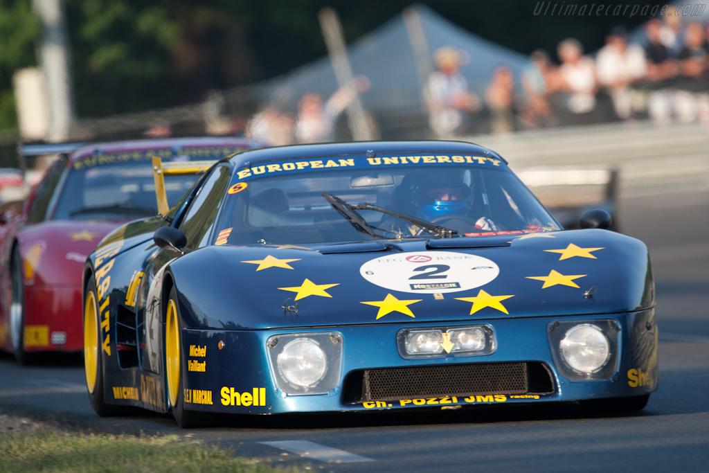 Ferrari 512 BB LM - Chassis: 32129 - Driver: Paul Knapfield  - 2010 Le Mans Classic