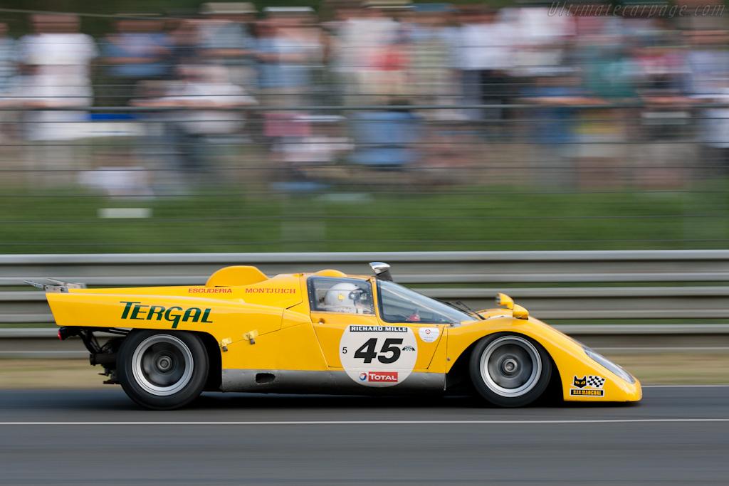 Ferrari 512 M - Chassis: 1002 - Driver: Dieter Roschmann  - 2010 Le Mans Classic