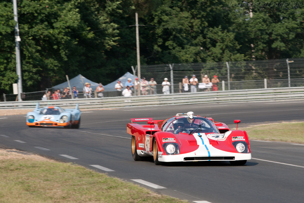Ferrari 512 M - Chassis: 1024 - Driver: Steven Read  - 2010 Le Mans Classic