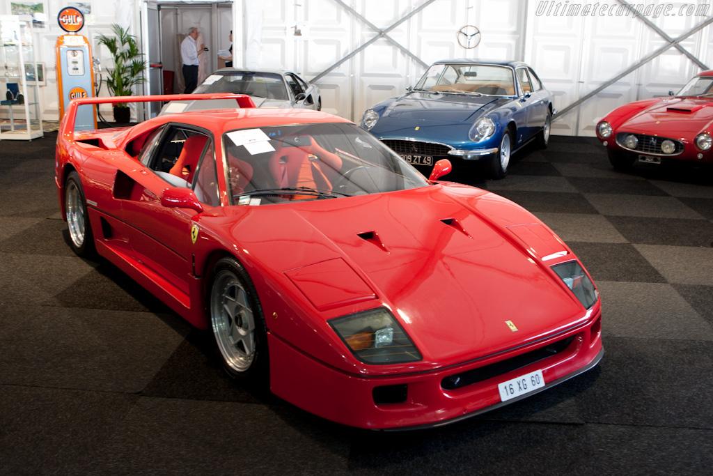Ferrari F40 - Chassis: 80706   - 2010 Le Mans Classic