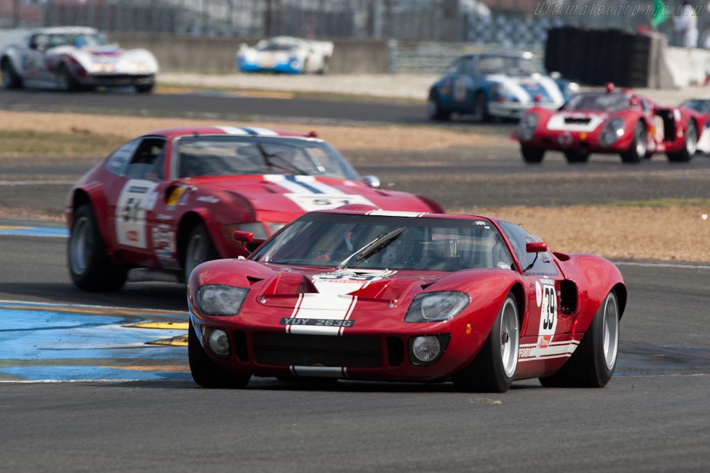Ford GT40    - 2010 Le Mans Classic
