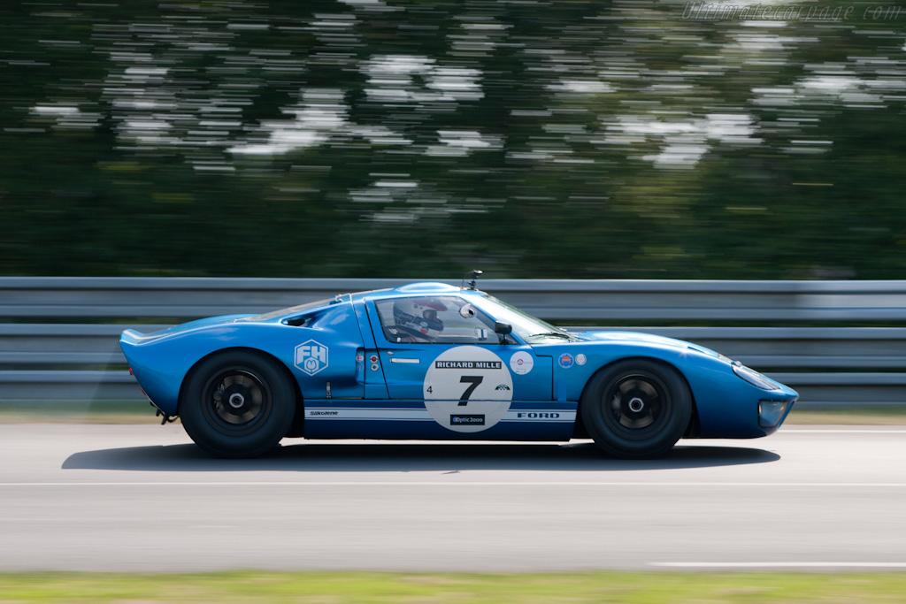 Ford GT40 - Chassis: GT40P/1062 - Driver: Hans Hugenholtz  - 2010 Le Mans Classic