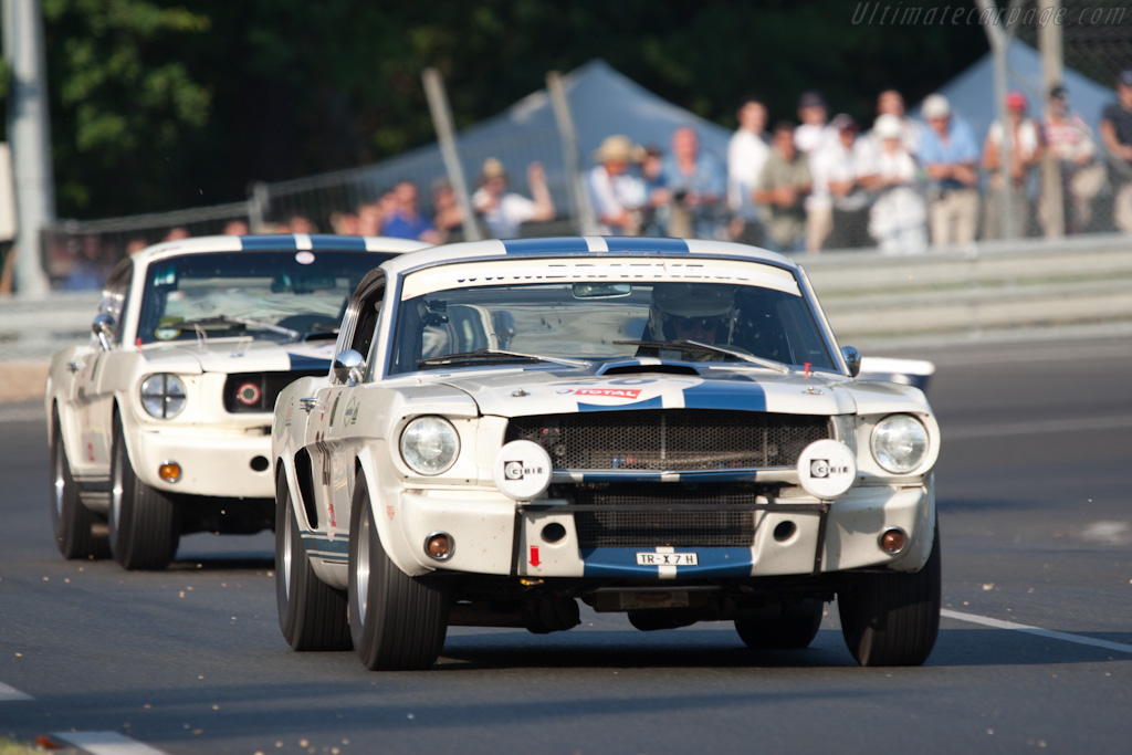 Ford Shelby Mustang Gt350 2010 Le Mans Classic