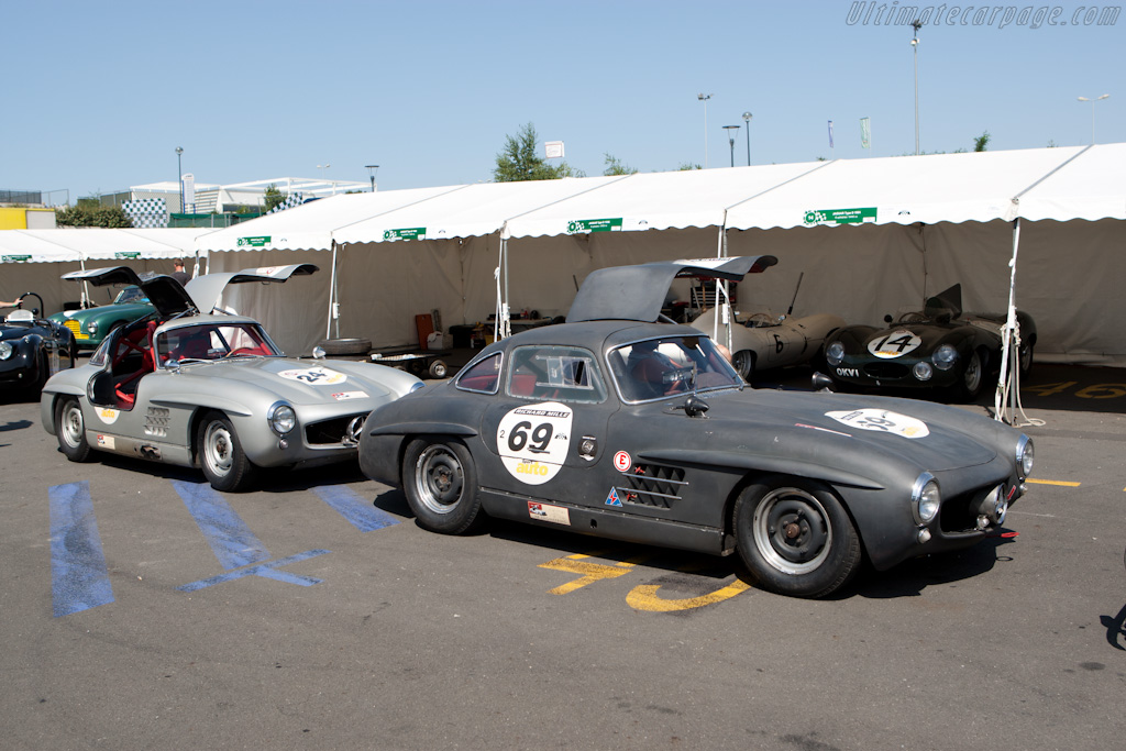 Gullwings    - 2010 Le Mans Classic