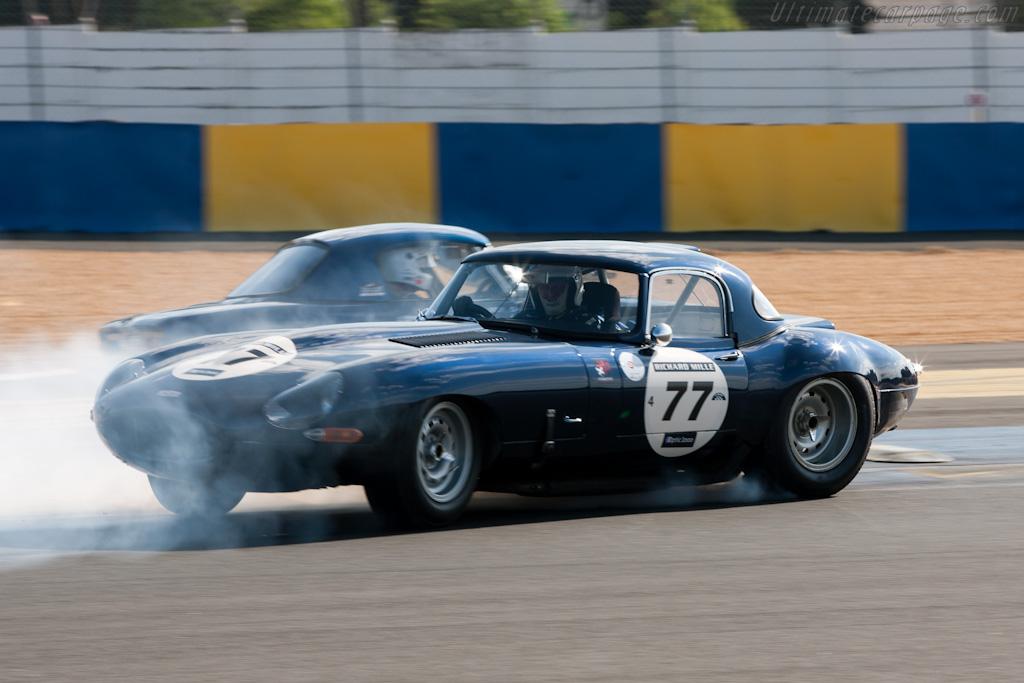 Jaguar E-Type    - 2010 Le Mans Classic