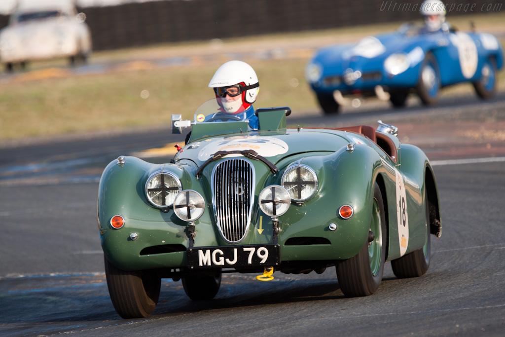 Jaguar XK120    - 2010 Le Mans Classic