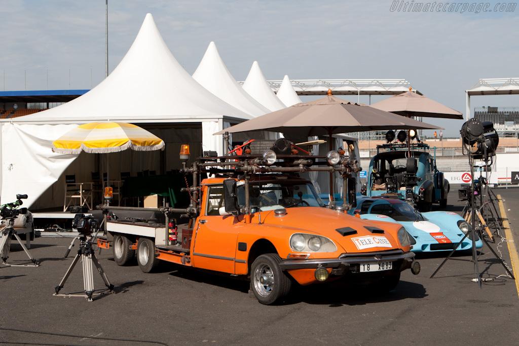 Le Mans movie set    - 2010 Le Mans Classic