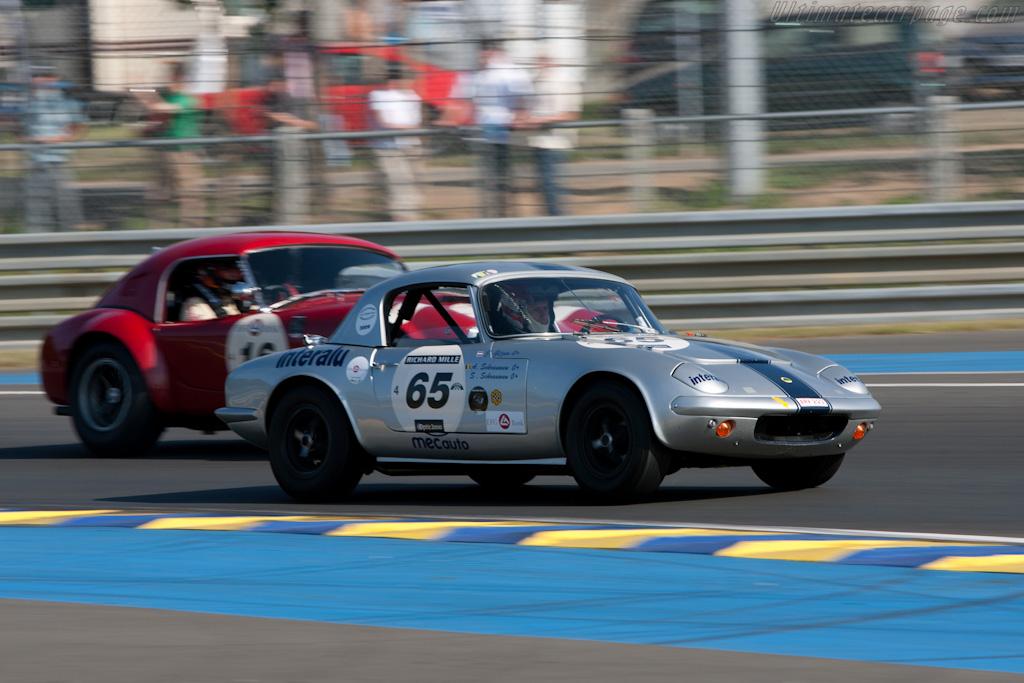 Lotus Elan    - 2010 Le Mans Classic
