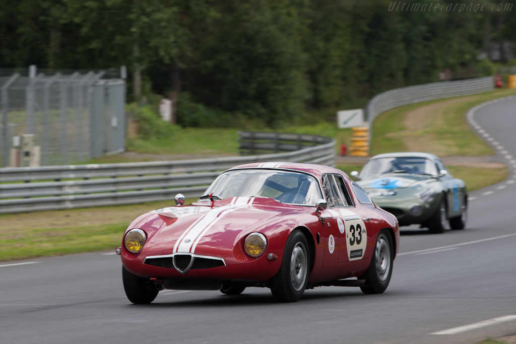 Alfa Romeo TZ - Chassis: AR750098   - 2012 Le Mans Classic