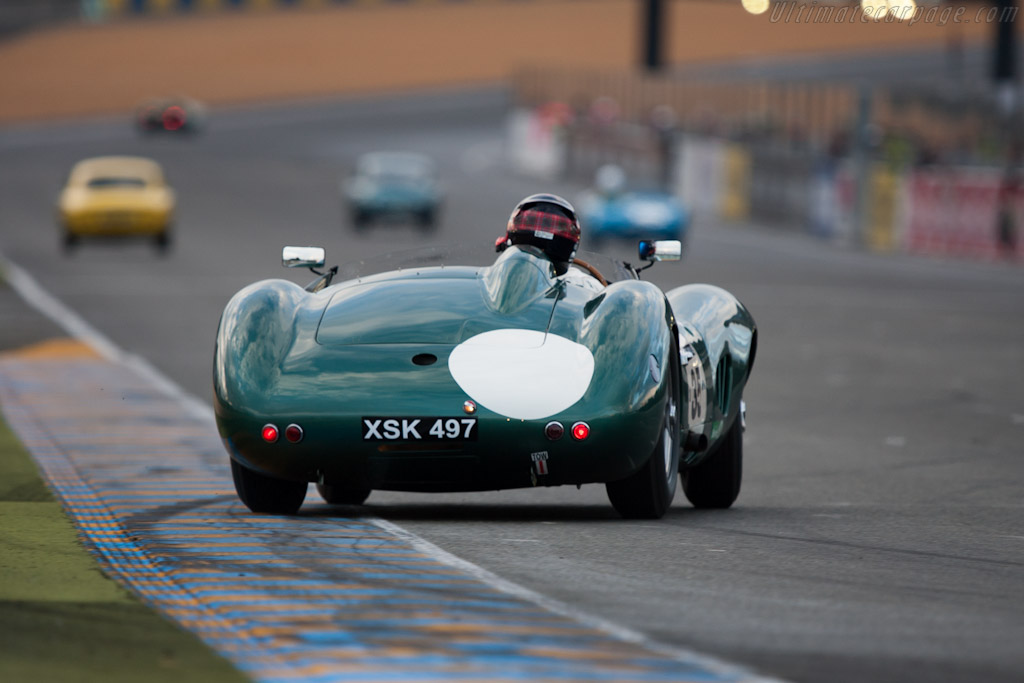 Aston Martin DBR1 - Chassis: DBR1/2 - Entrant: Harry Leventis - Driver: Gregor Fisken  - 2012 Le Mans Classic