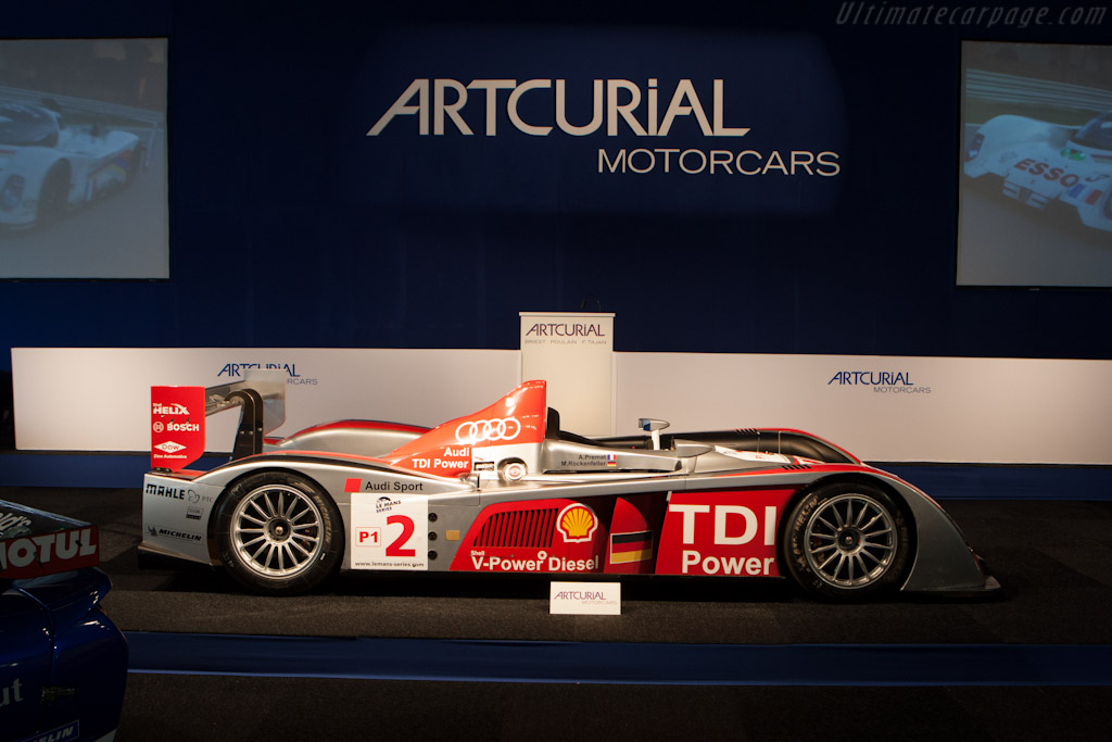 Audi R10 TDI - Chassis: 201   - 2012 Le Mans Classic