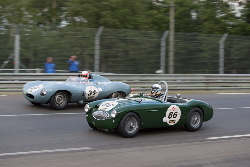 Austin Healey 100 S - Chassis: AHRS65   - 2012 Le Mans Classic