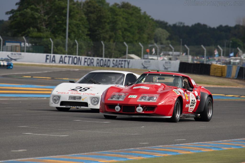 Chevrolet Corvette    - 2012 Le Mans Classic