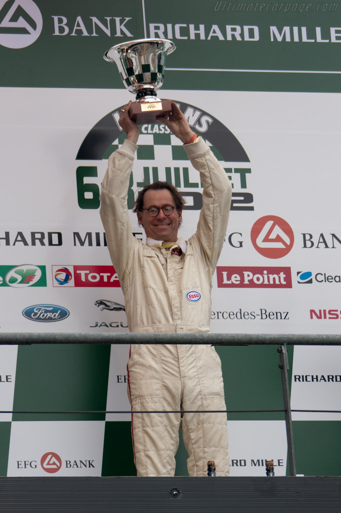 Chris MacAllister    - 2012 Le Mans Classic