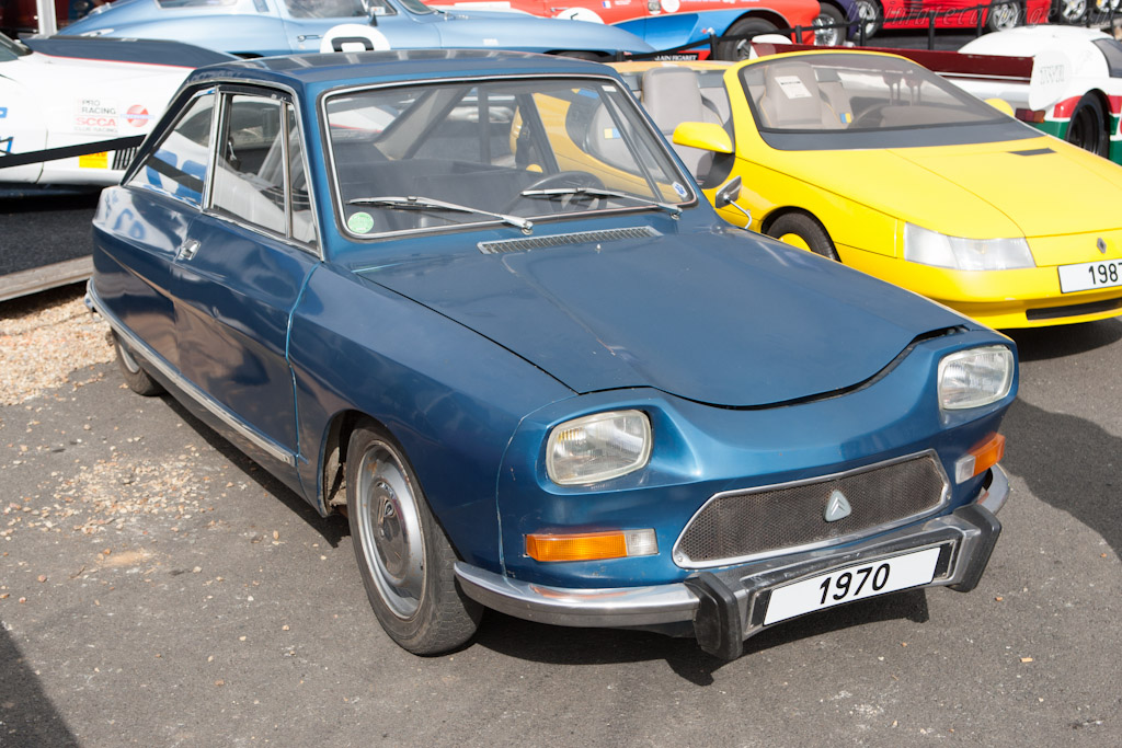 Citroën M35 - Chassis: 00EA0039   - 2012 Le Mans Classic