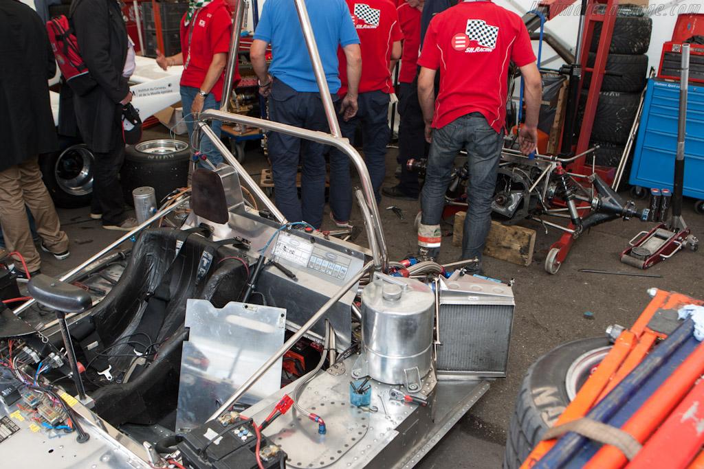 Engine change    - 2012 Le Mans Classic