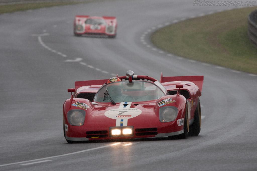 Ferrari 512 S - Chassis: 1006 - Driver: Shaun Lynn  - 2012 Le Mans Classic