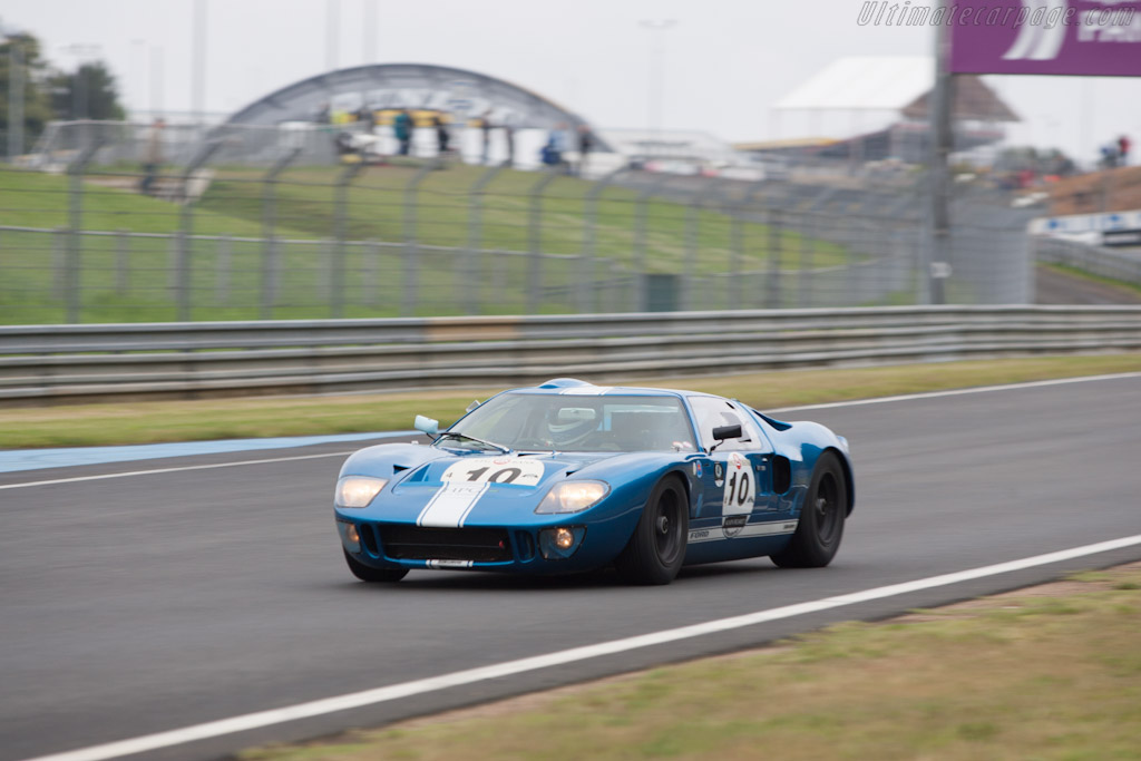 Ford GT40 - Chassis: GT40P/1062 - Driver: Hans Hugenholtz  - 2012 Le Mans Classic
