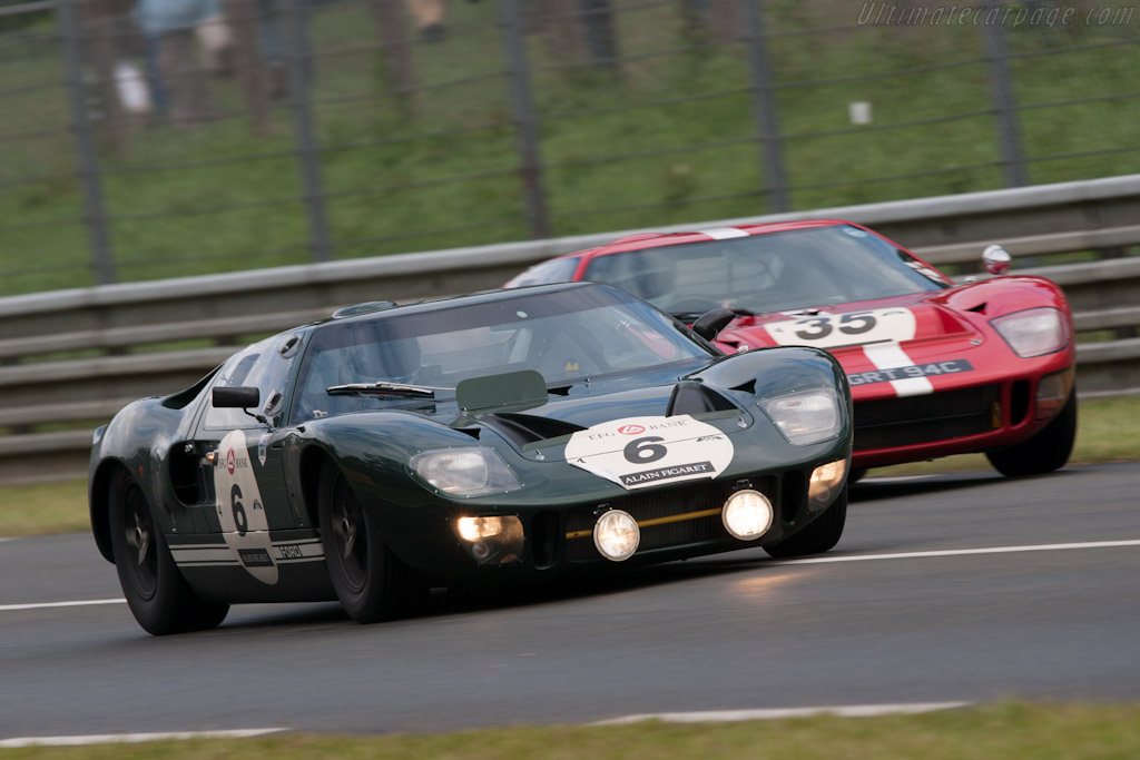 Ford GT40 - Chassis: GT40P/1009  - 2012 Le Mans Classic