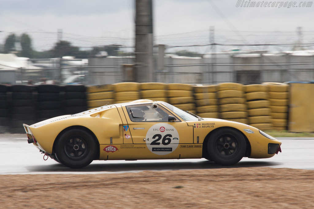 Ford GT40 - Chassis: GT40P/1079   - 2012 Le Mans Classic
