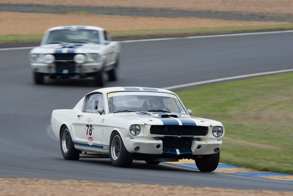 Ford Shelby Mustang GT350    - 2012 Le Mans Classic