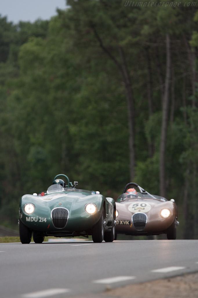 Jaguar C-Type    - 2012 Le Mans Classic