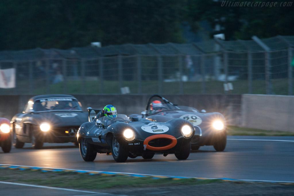 Jaguar D-Type    - 2012 Le Mans Classic