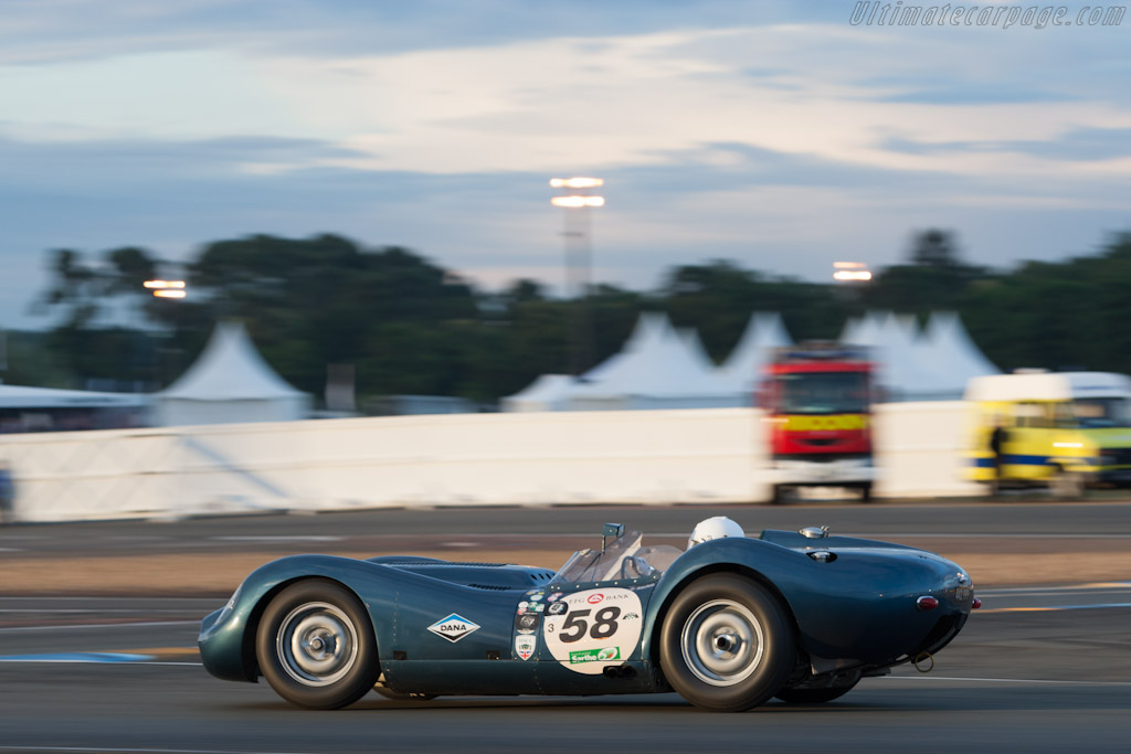 Lister Knobbly Jaguar    - 2012 Le Mans Classic