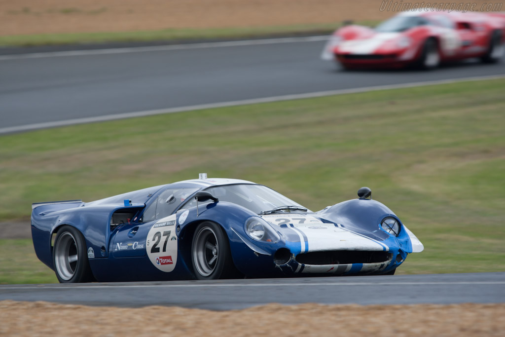 Lola T70 Mk3 - Chassis: SL73/118  - 2012 Le Mans Classic