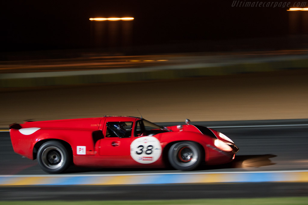 Lola T70 Mk3 - Chassis: SL73/110 - Driver: Bernard Thuner  - 2012 Le Mans Classic