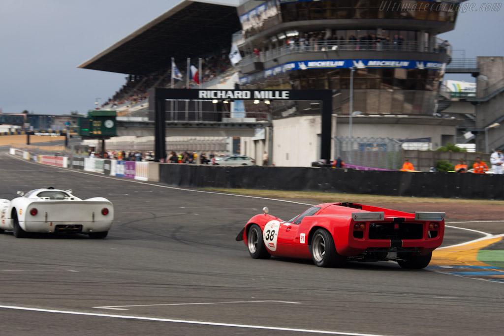 Lola T70 Mk3 - Chassis: SL73/110 - Driver: Bernard Thuner  - 2012 Le Mans Classic