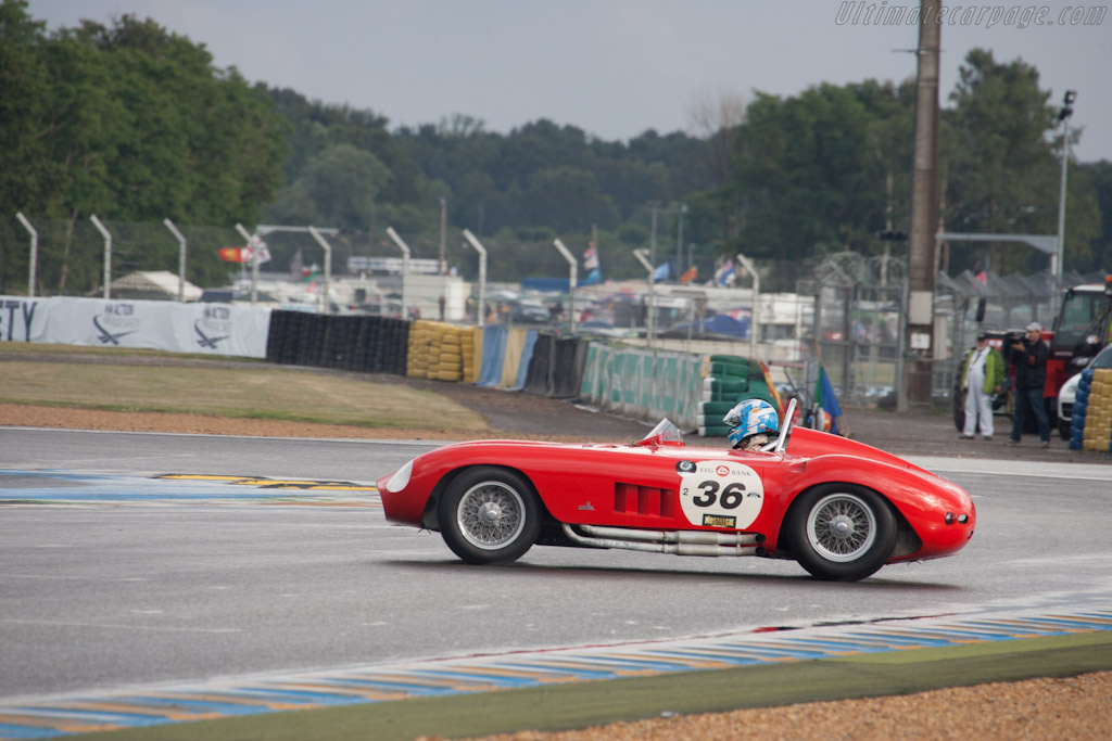 Maserati 300 S - Chassis: 3061   - 2012 Le Mans Classic