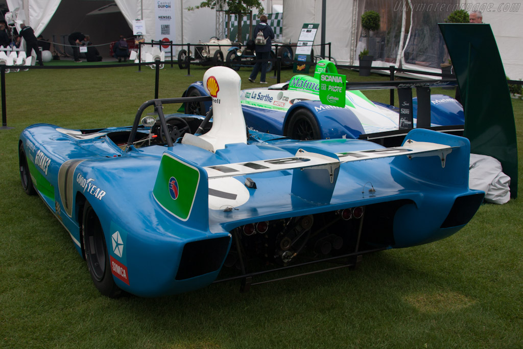 Matra MS670B - Chassis: MS670B-06   - 2012 Le Mans Classic