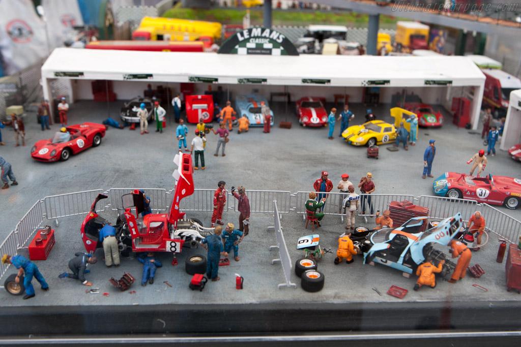 Miniature paddock    - 2012 Le Mans Classic
