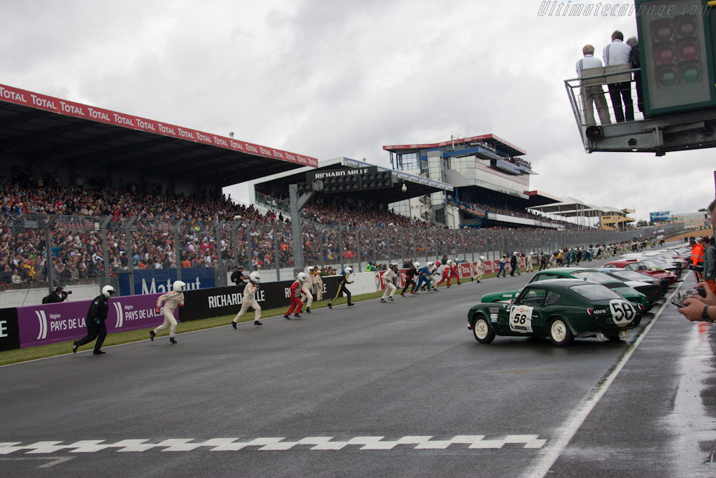 Off they go    - 2012 Le Mans Classic