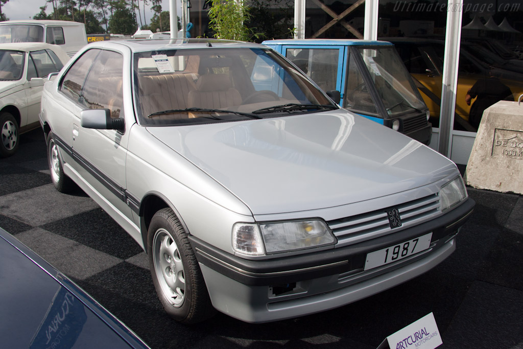 Peugeot 405 Coupe USA - Chassis: HZ1987-1   - 2012 Le Mans Classic